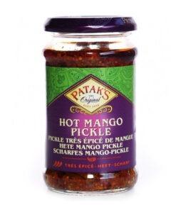 pataks hot mango pickle – 283g