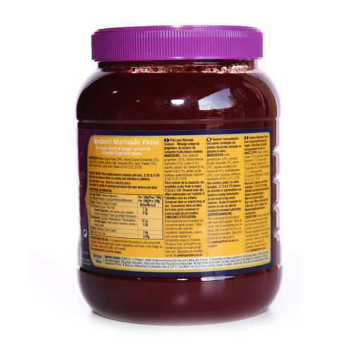 pataks tandoori paste – 2.5kg