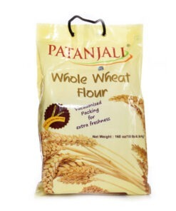 patanjali whole wheat atta  – 4.5kg