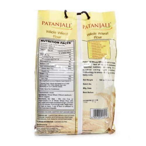 patanjali whole wheat atta  – 4.5kg