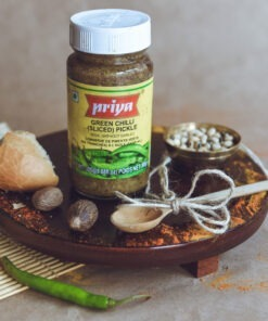 priya foods chilli pickle – 300g