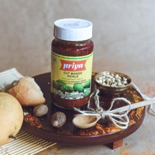 priya foods cut mango pickle – 300g