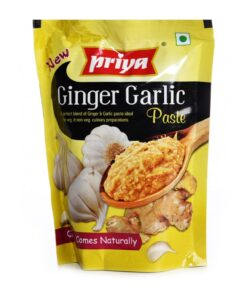 priya foods ginger & galic paste