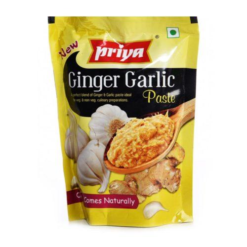 priya foods ginger & galic paste