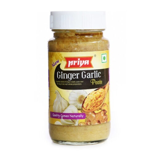 priya foods ginger & galic paste – 300g