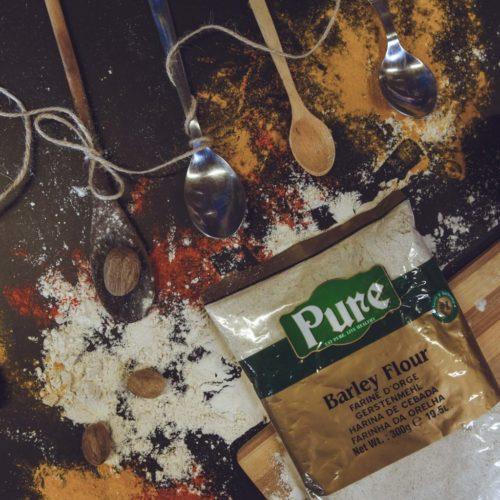 pure barley flour  – 300g