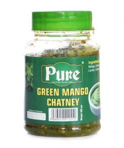 pure green mango chutney  – 330g