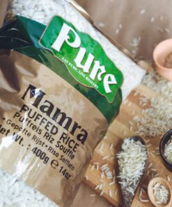 pure mamra (puffed rice)