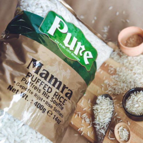 pure mamra (puffed rice)