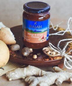 rajah mango & ginger chutney – 340g