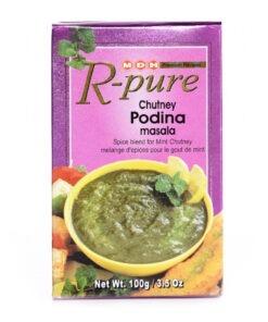 mdh r-pure chutney pudina – 100g