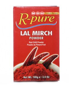 mdh r-pure red chilli powder – 100g