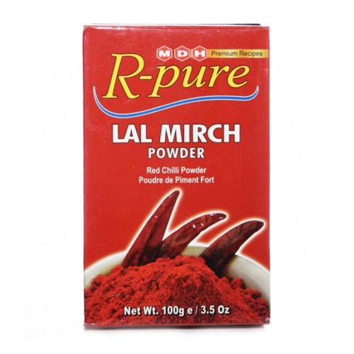 mdh r-pure red chilli powder – 100g