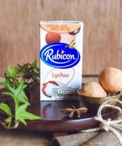 rubicon lychee juice – 1l
