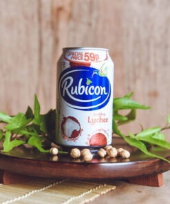 rubicon lychee sparkling can – 330ml