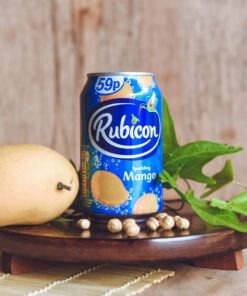 rubicon mango sparkling can – 330ml
