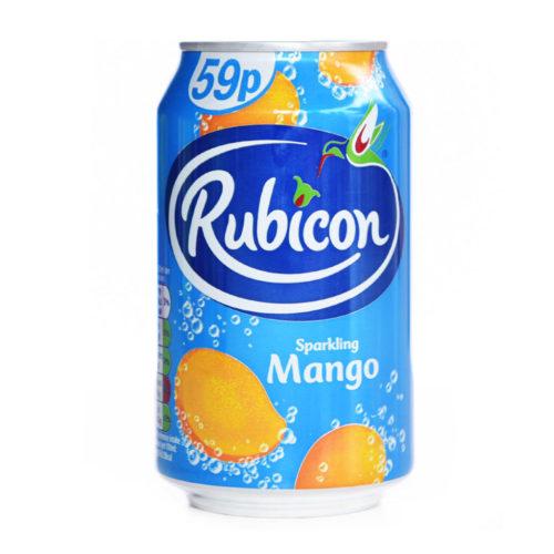 rubicon mango sparkling can – 330ml