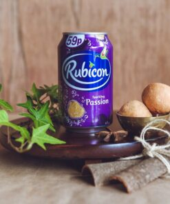 rubicon passion fruit sparkling can – 330ml