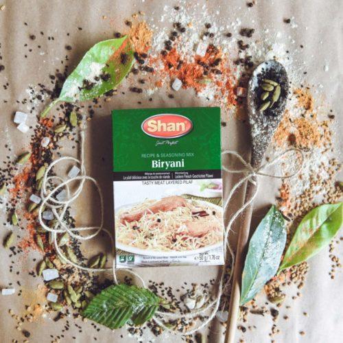shan biryani mix – 50g