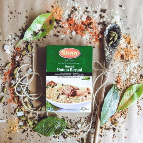 shan memoni mutton biryani mix – 60g