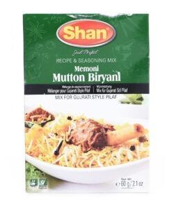 shan memoni mutton biryani mix – 60g