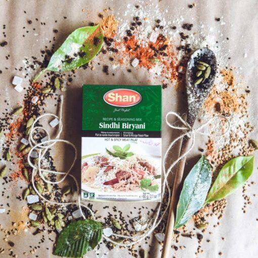 shan sindhi biryani mix – 50g