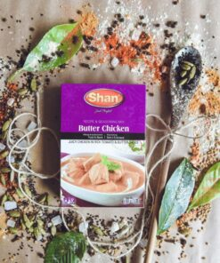 shan butter chicken mix – 100g
