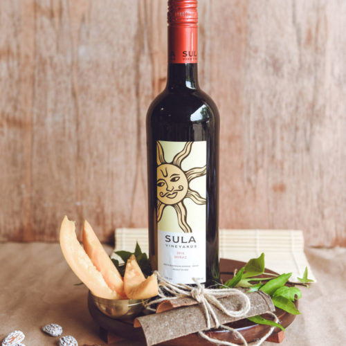sula wineyard shiraz red wine – 0,7l