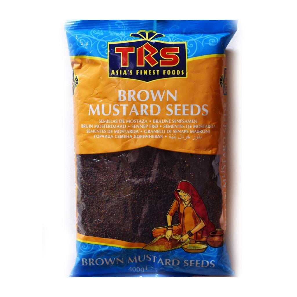 trs brown mustard seeds – 400g