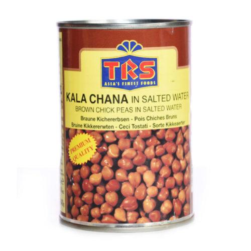 trs canned boiled kala chana – 400g