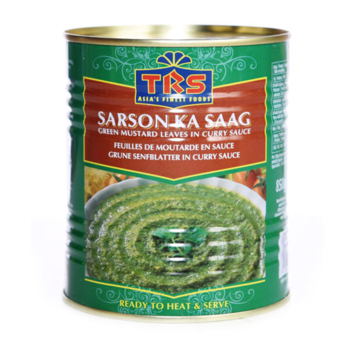 trs canned sarson ka saag