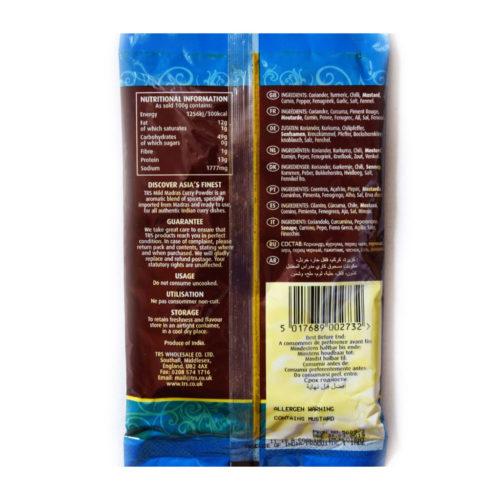 trs madras curry powder mild