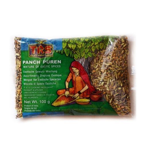 trs panch puren spice mix – 100g