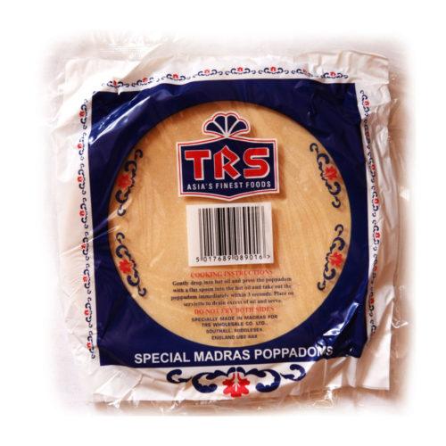trs madras papad plain  – 200g