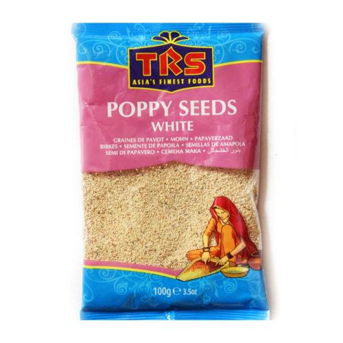 trs white poppy seeds – 100g