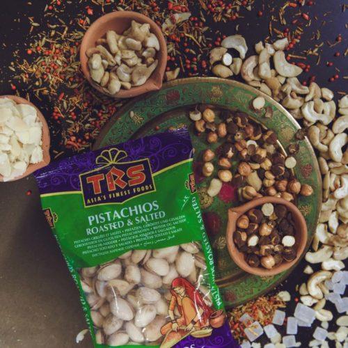 trs saled pistachios – 100g