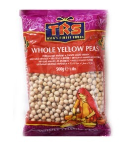 trs whole yellow peas – 500g
