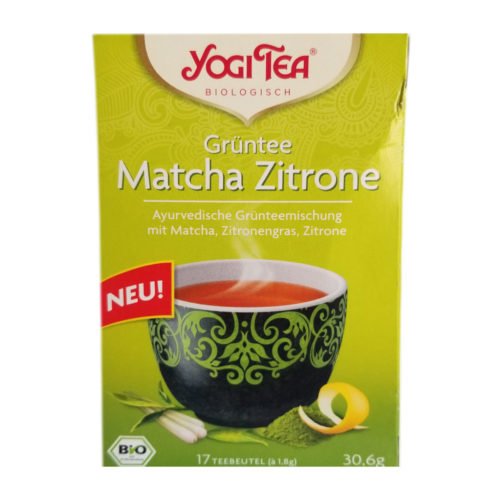 yogi green tea 17tbs – 30.6g